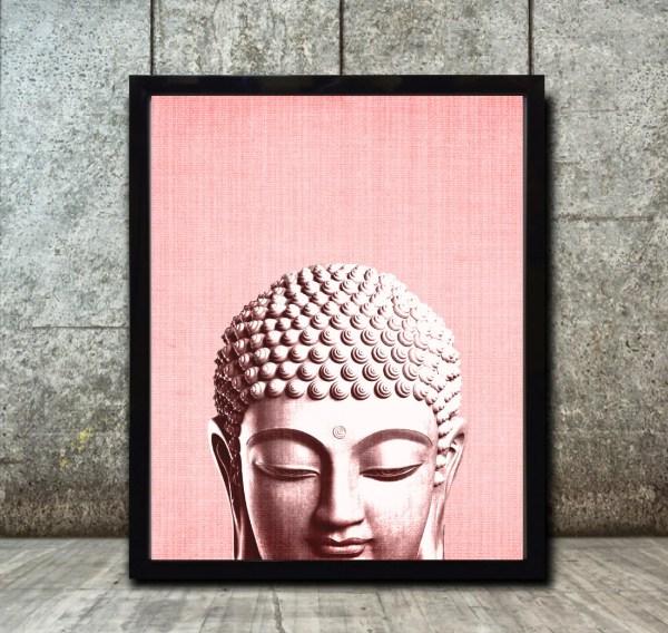 Boho Prints Posters Buddha Wall Art Print
