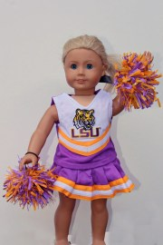 customized collegiate cheer outfits