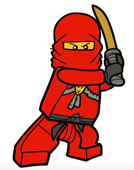Malvorlage Ninjago Kai