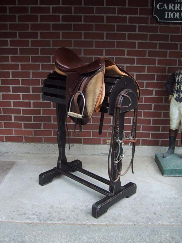 English Saddle Stand
