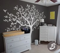 Large tree wall decal Tree decal for nursery Temporary wall