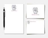 Elephant Stationery - Per...