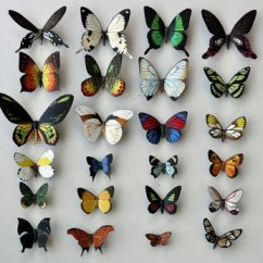 Kitchen Magnets Rentals Fox Fridge Set Of 4 Animal Butterfly 24 Insects Refrigerator Handmade
