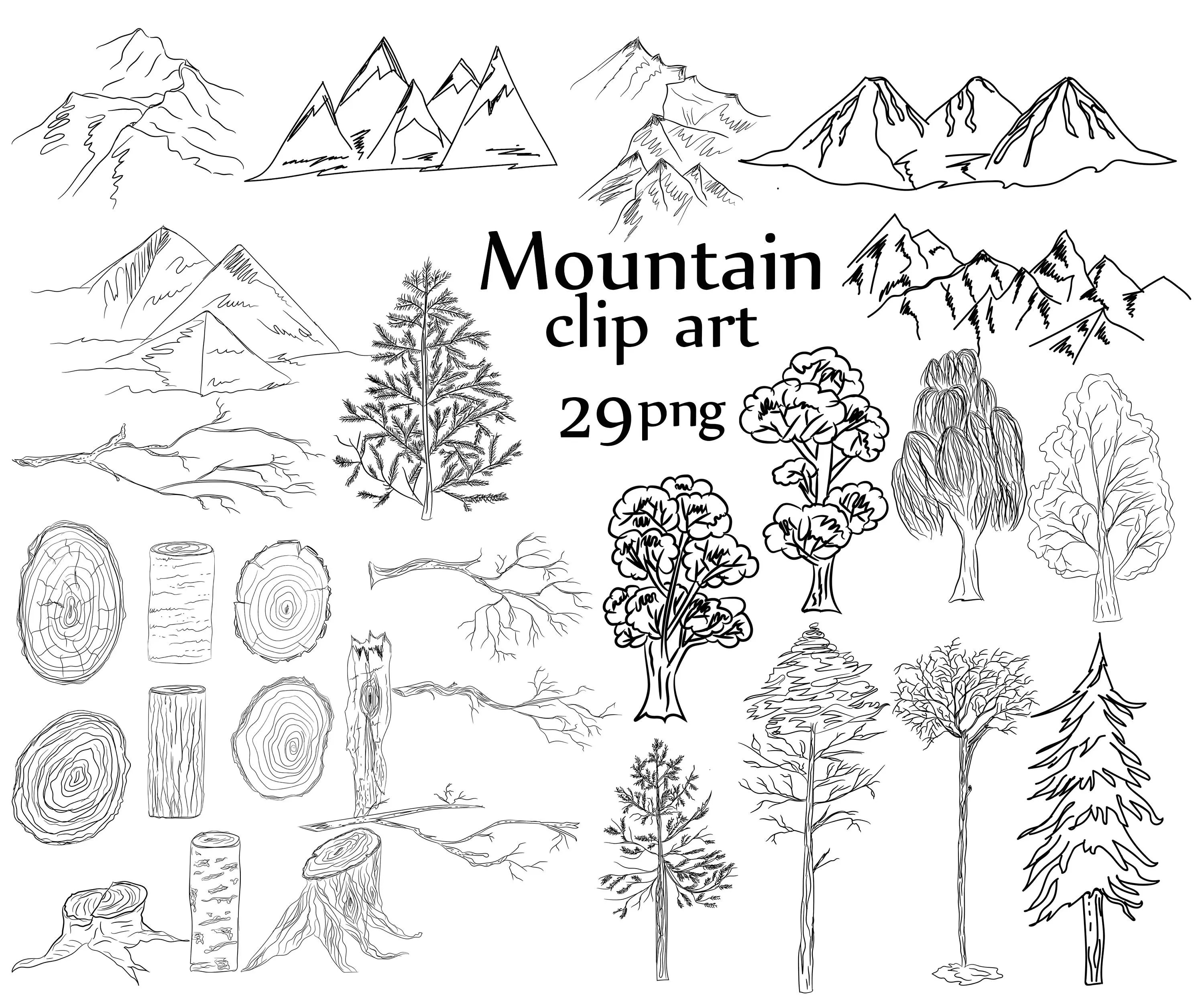 Mountain Clip Art Mountains Clip Art Mountain