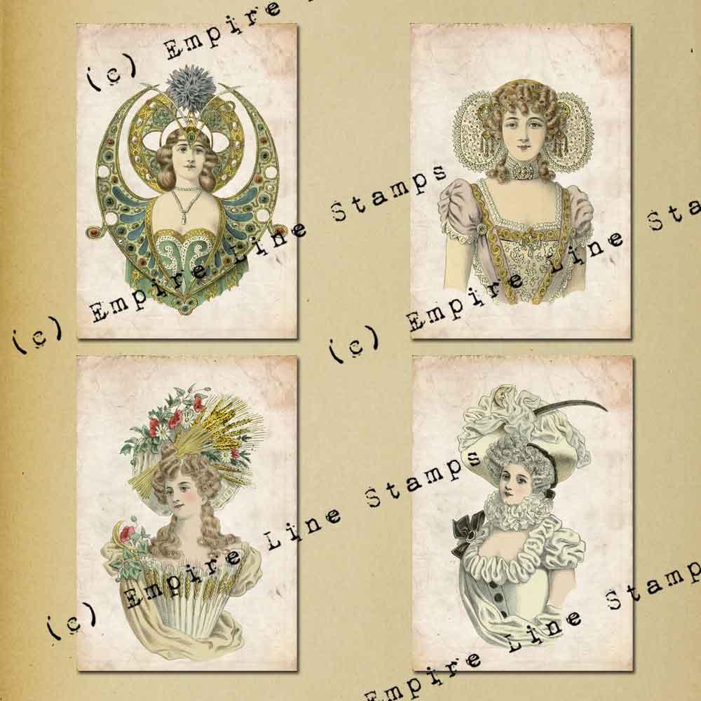 Antique Fancy Dress 3.5 x...