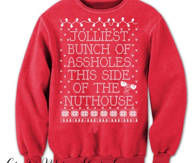 Christmas Vacation Sweater Tacky Christmas Sweater Griswold Christmas Clark Griswold Christmas Sweatshirt Red Sweater