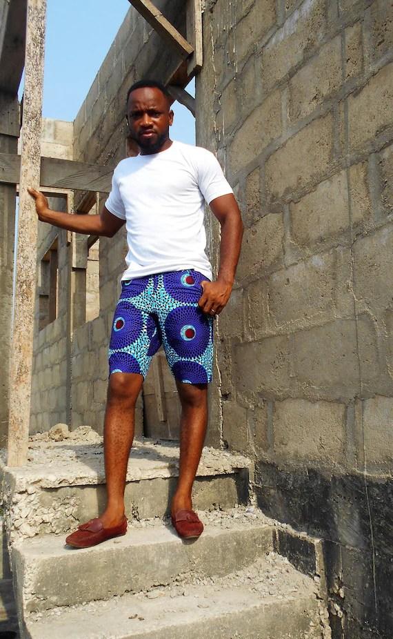 15 Latest 2018 Ankara Shorts For Men