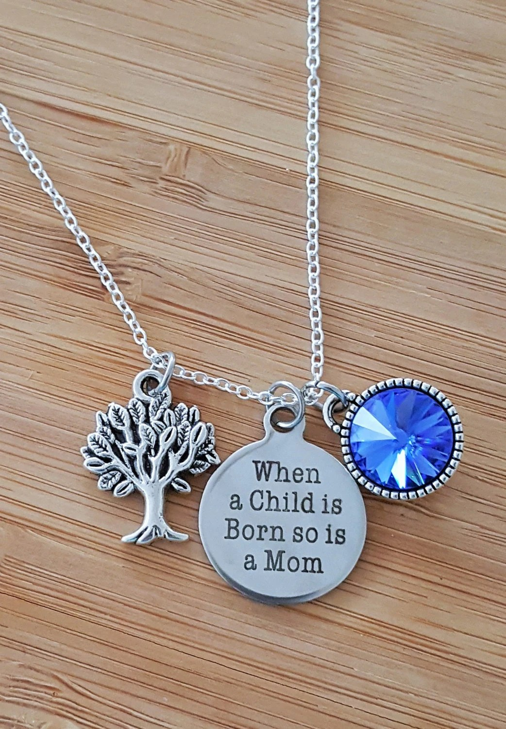 New Mom Necklace New Mom Gift New Mom Push Present New Mommy