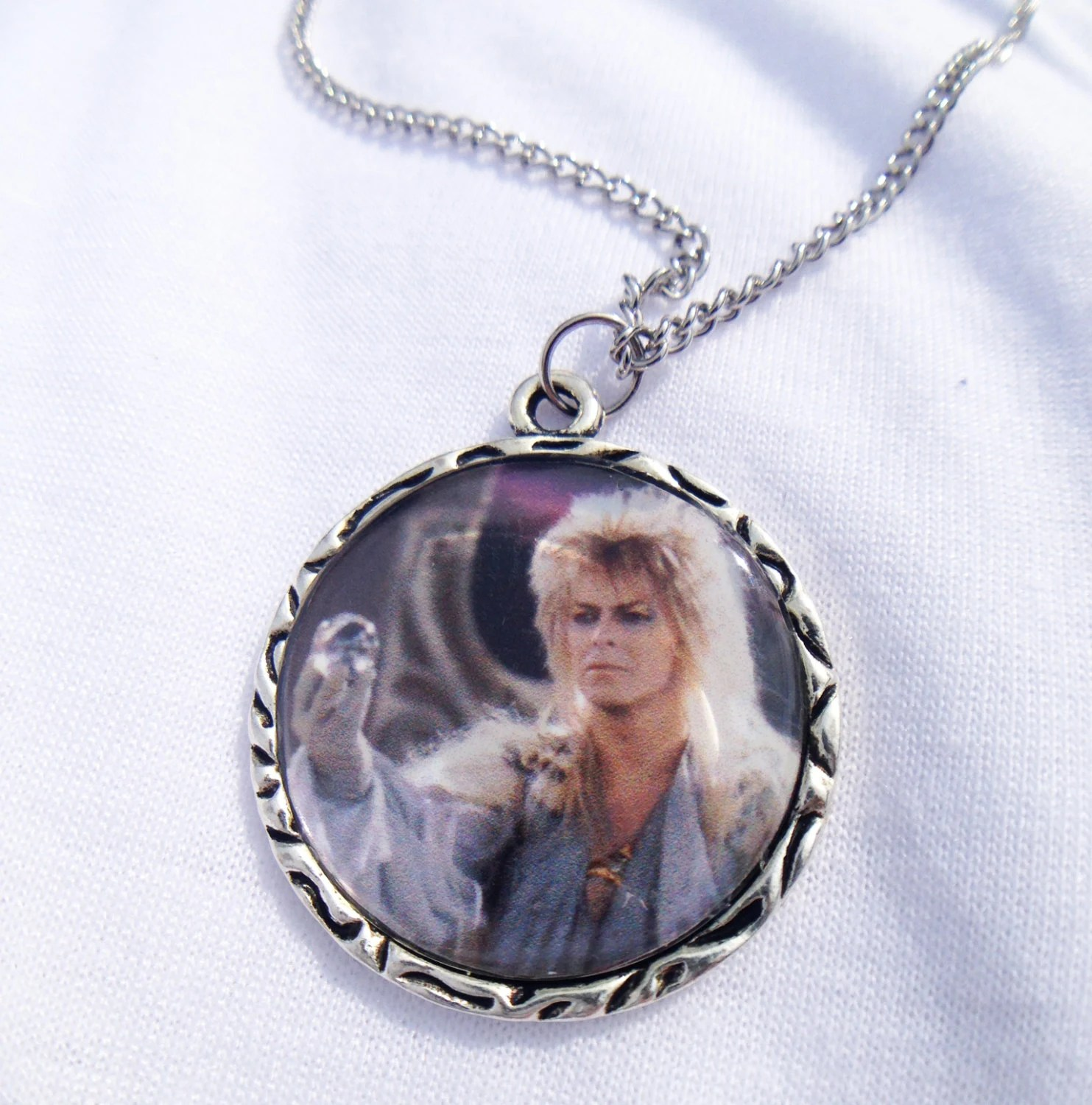 David Bowie Labyrinth Necklace