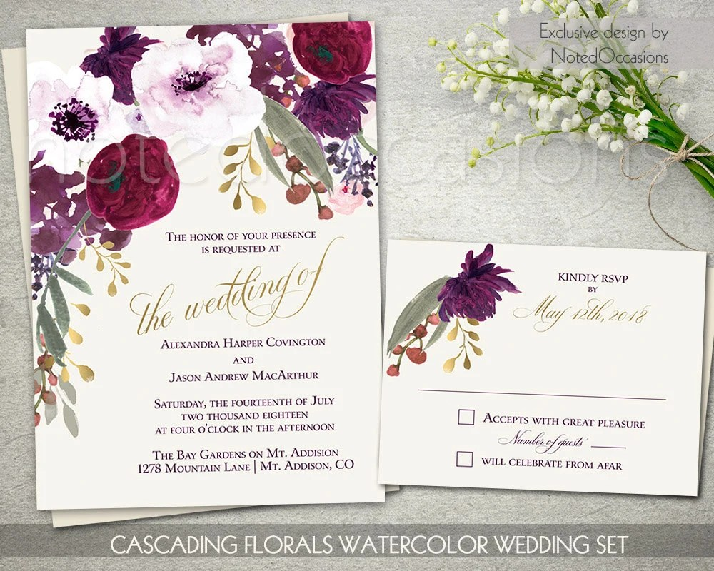 Country Chic Wedding Shower Invitations