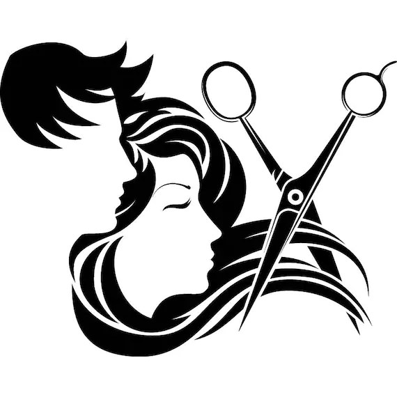 hair salon accessories barber scissors