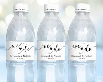 Gilly Water Printable Water Bottle Labels Avery Label 22845