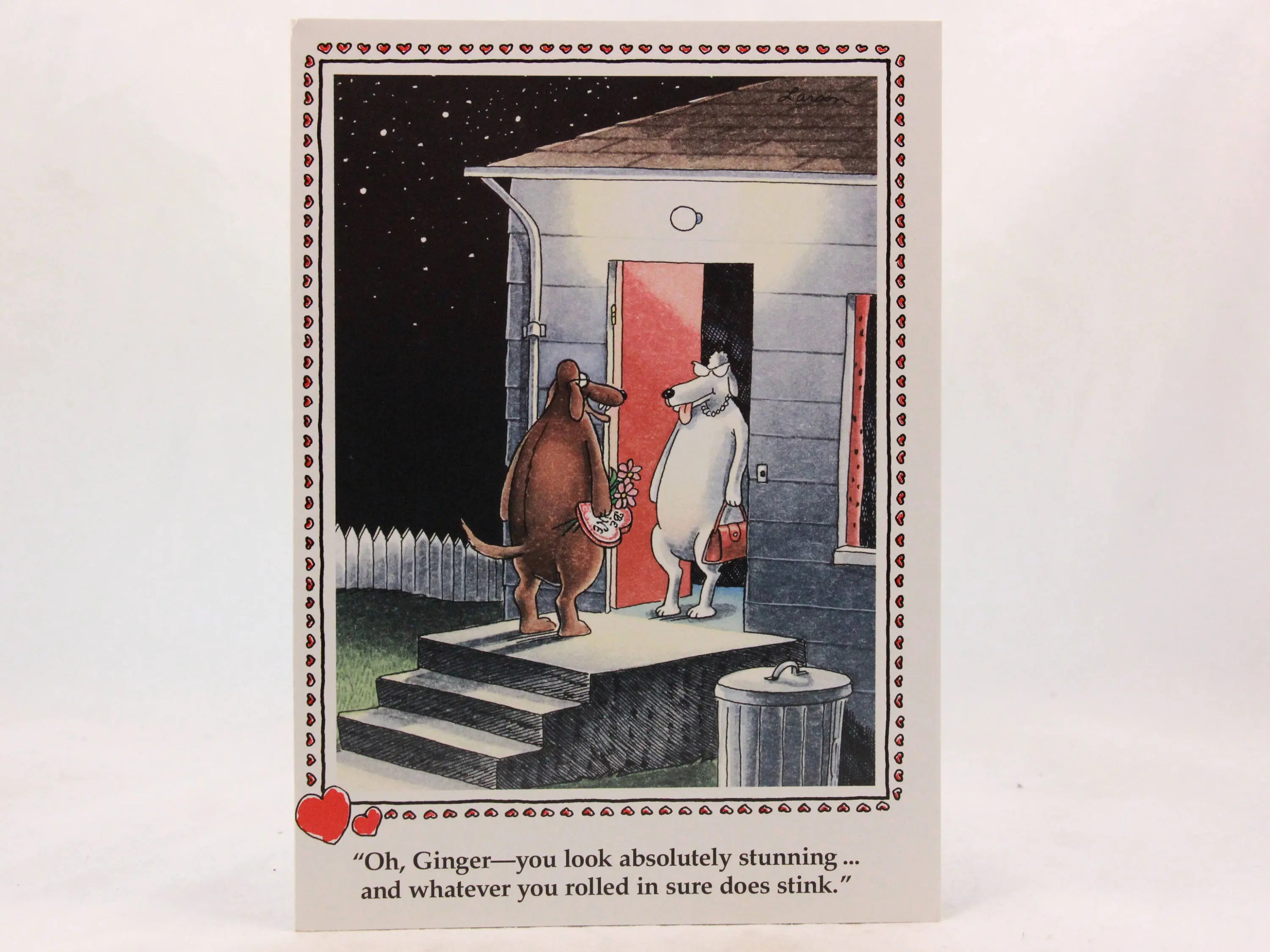 Vintage 1986 Gary Larson Far Side Valentine's Day Greeting