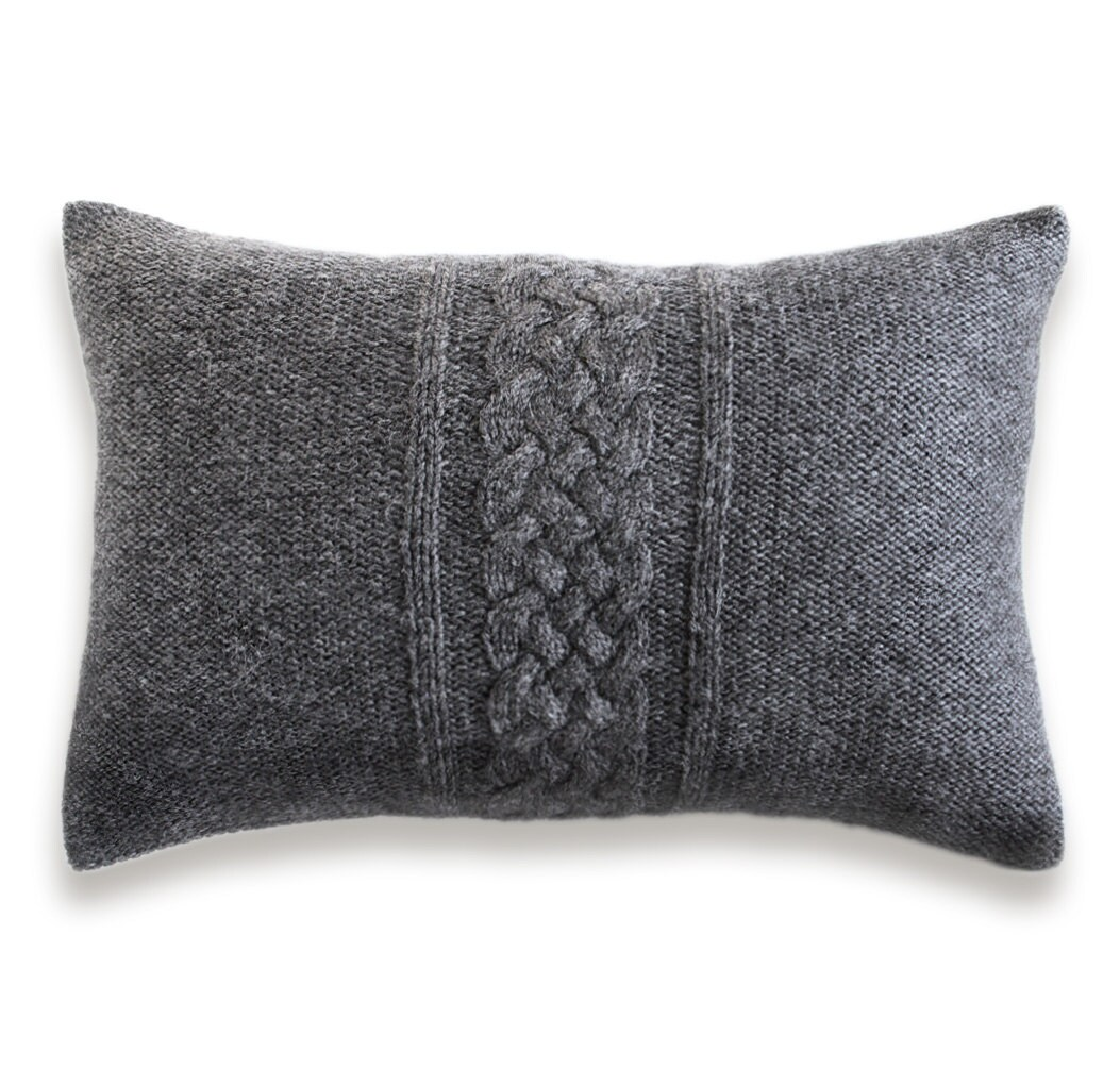 Knitted Envelope Pillow Pattern