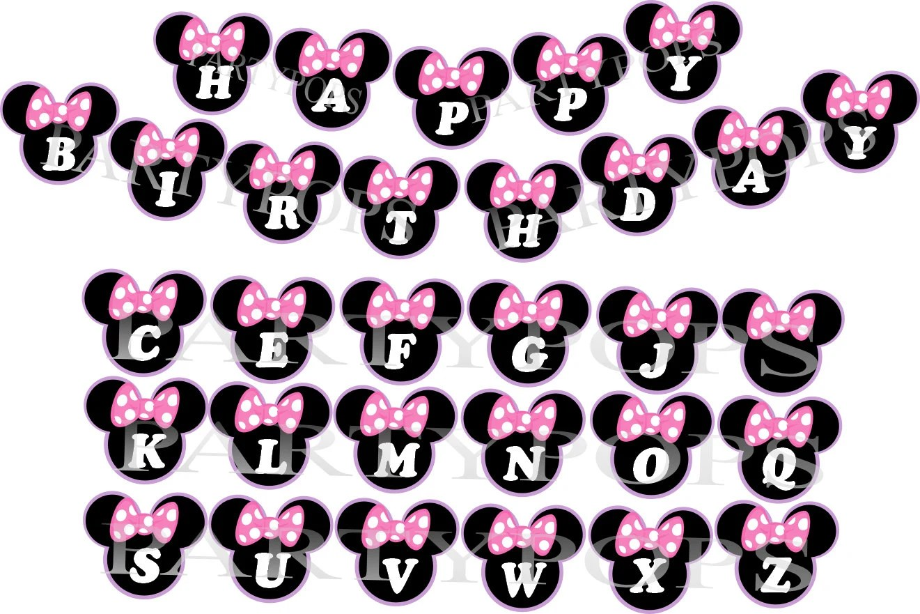 Minnie Mouse Banner Minnie Mouse Bow Tique Minnie Mouse