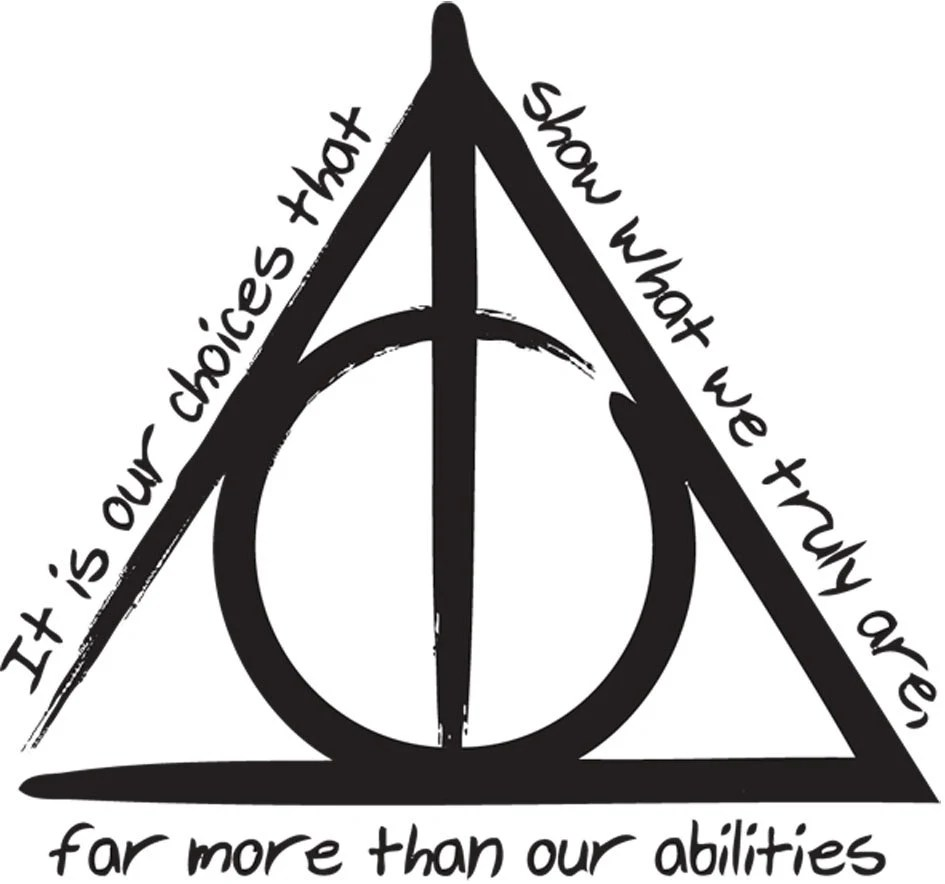 The Deathly Hallows 'Harry Potter And The Deathly