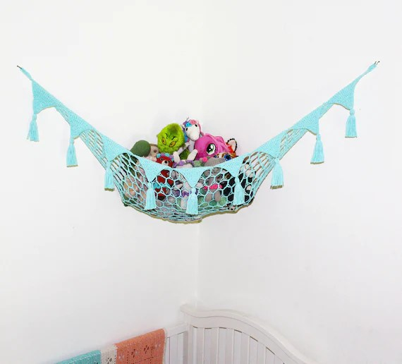 Toy Hammock with Tassels