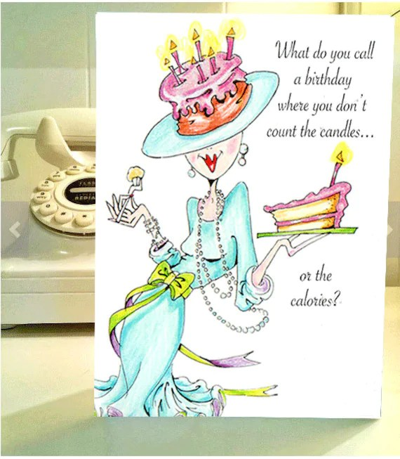 Funny Birthday Cards Old Lady
