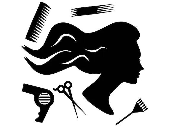 hair style salon beauty scissors