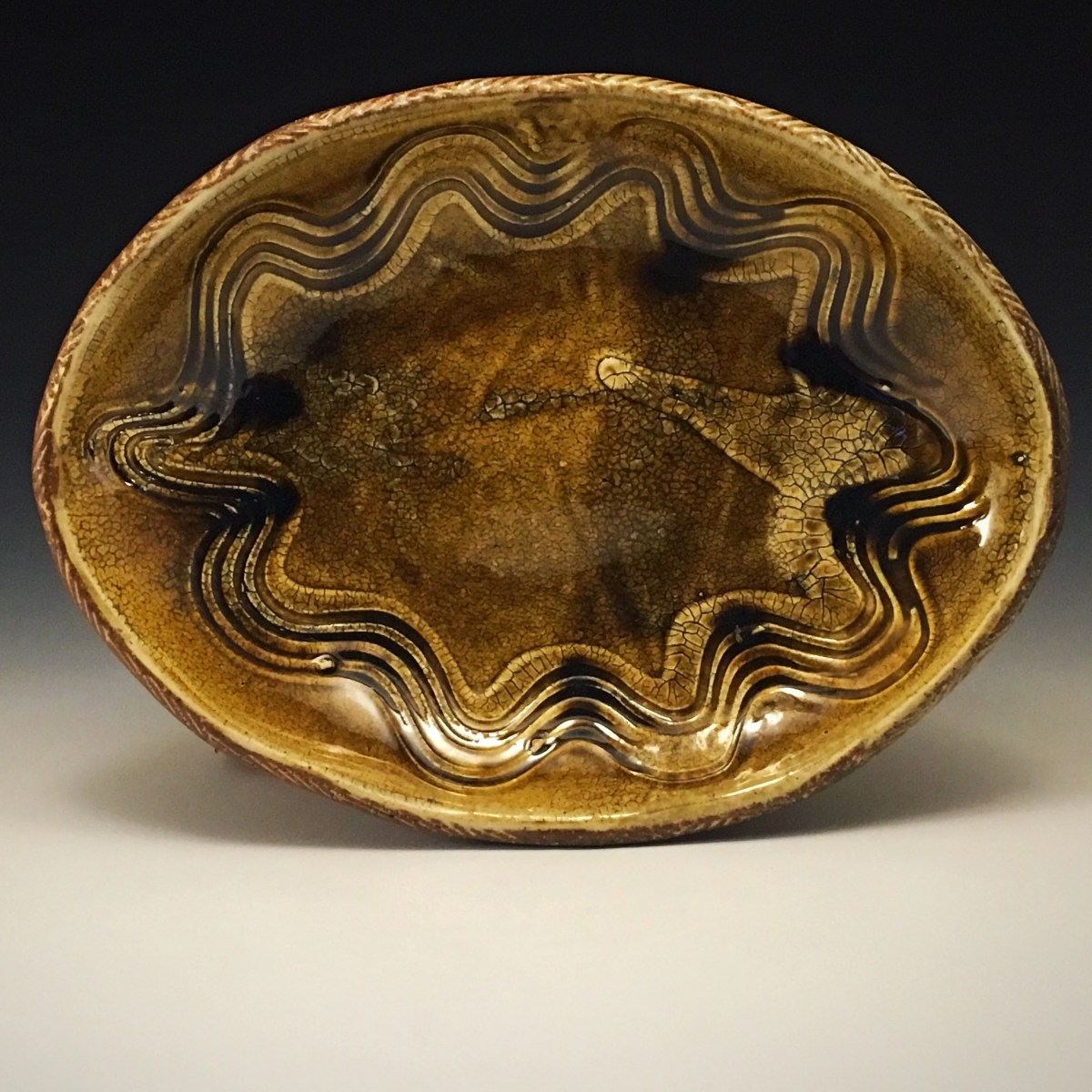 Oval Serving Plate