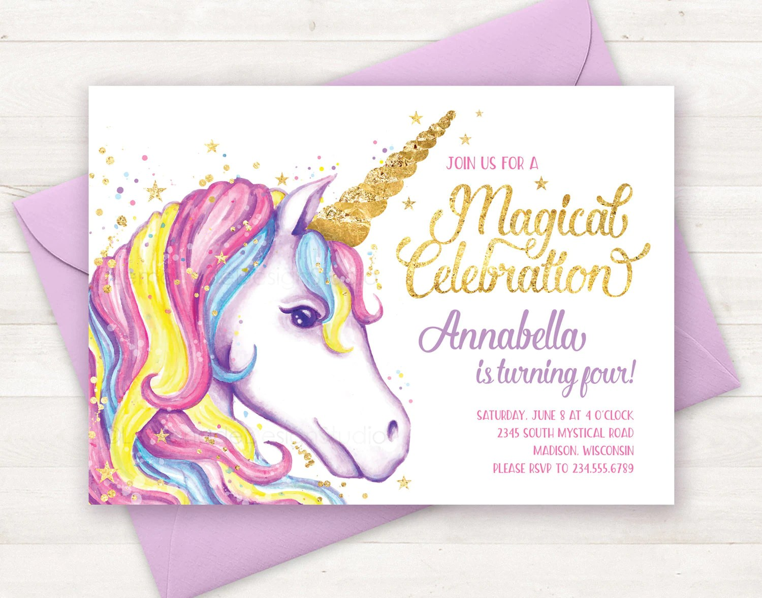 Free Printable Invitations 4 Page