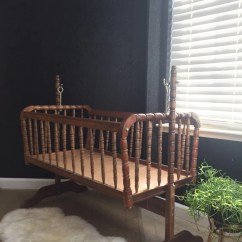 Jenny Lind Rocking Chair Event Covers Vancouver Vintage Wooden Baby Crib Spindle