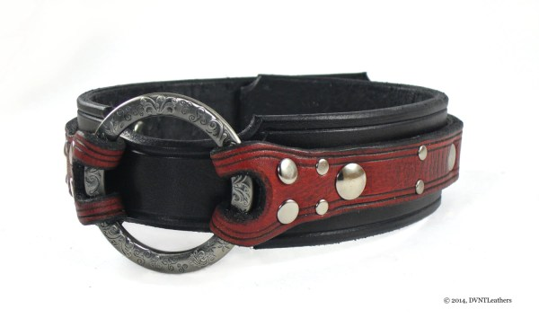 Leather Bdsm Collar Slave Bondage