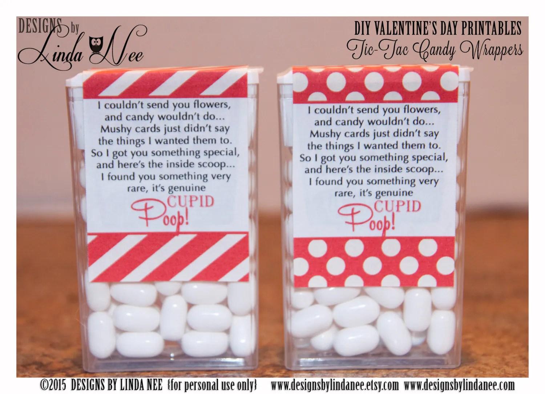 Tic Tac Cupid Poop Poem Dots Valentine S Day Printable