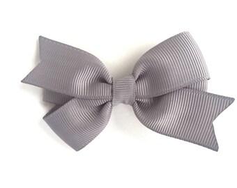 gray hair bow bows
