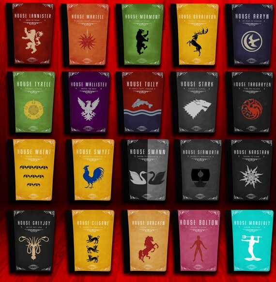 Ipad Mini Tablet Case Game Of Thrones Houses Designs 20