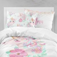 Unicorn Girls Room Unicorn Girls Bedding Toddler Duvet