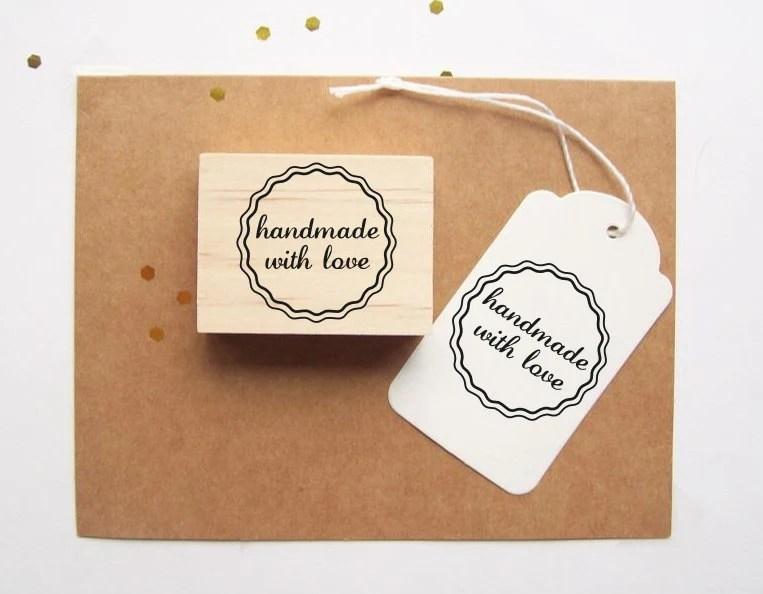 Handmade Love Rubber Stamp