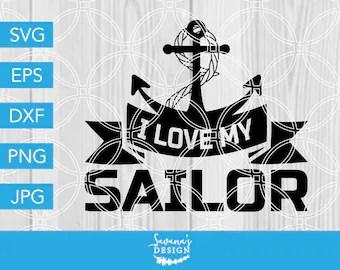 Download I love my sailor | Etsy