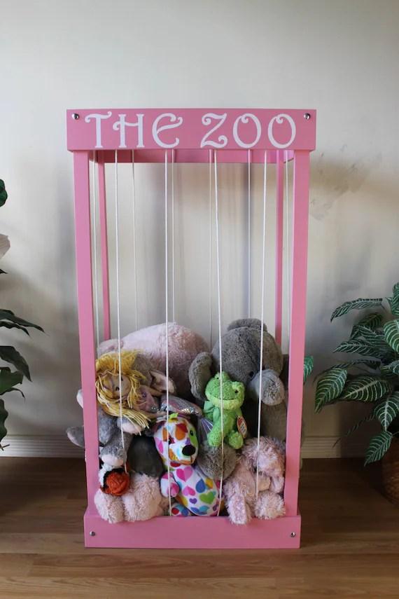 The Zoo Stuffed Animal Storage Cage