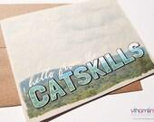 Hello From The Catskills ...