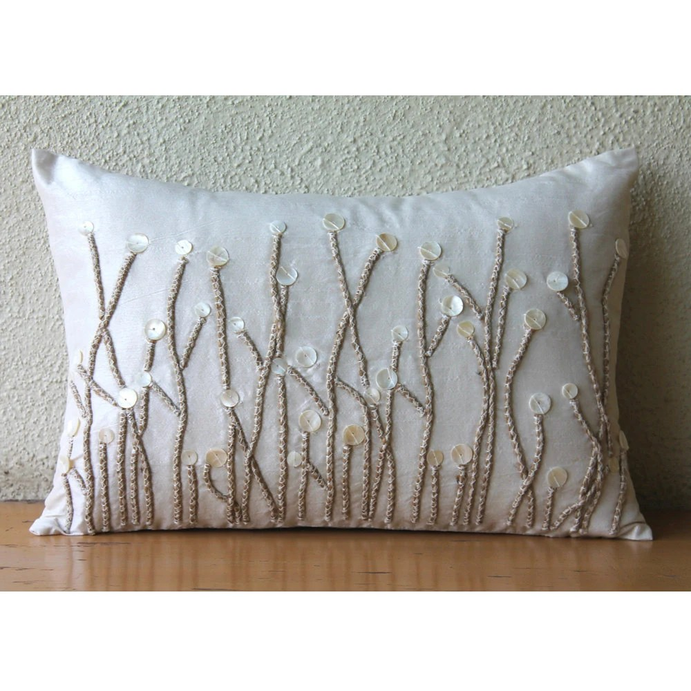 Decorative Oblong  Lumbar Pillow Covers Accent Pillows Couch