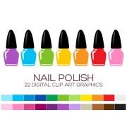 nail polish clipart fashion
