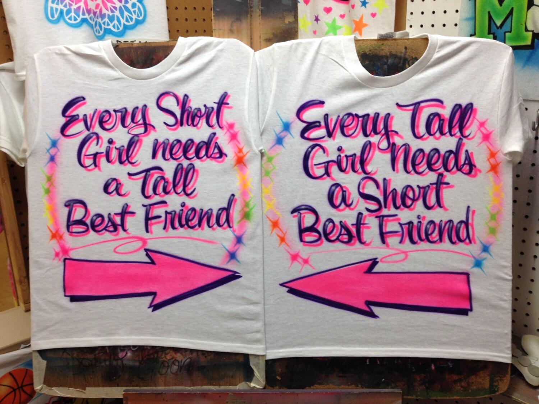Airbrush Shirts Best Friends