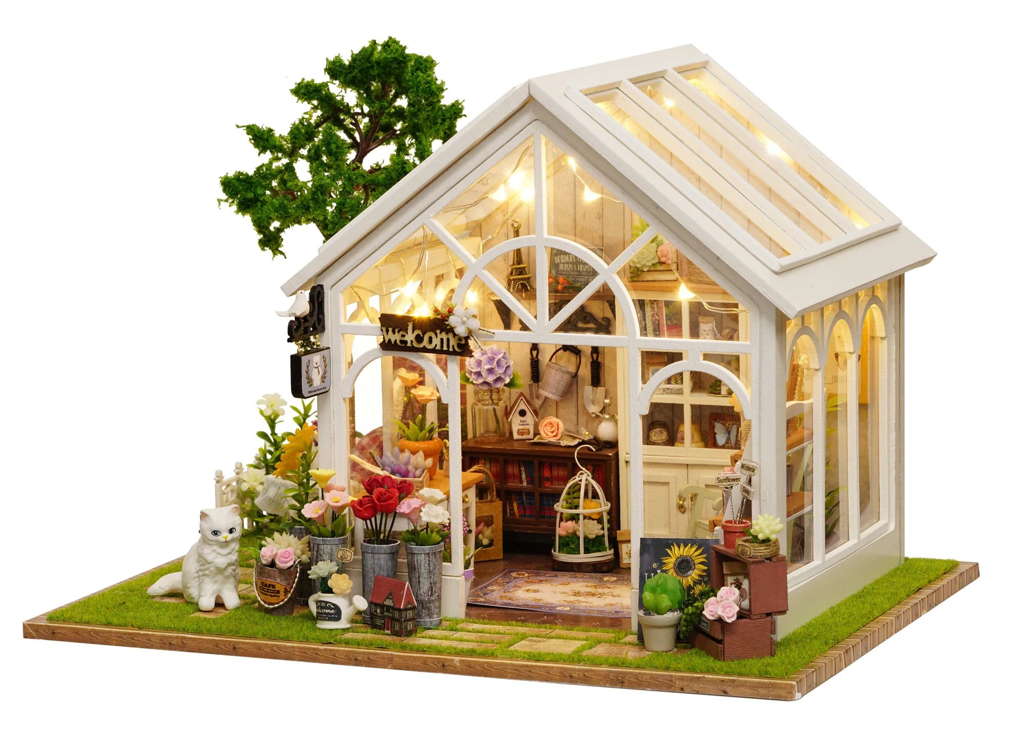 1 24 diy miniature dollhouse kit