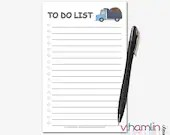 To Do List Notepads - Cut...