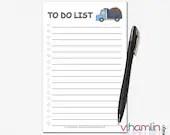 To Do List Notepads - Cut...