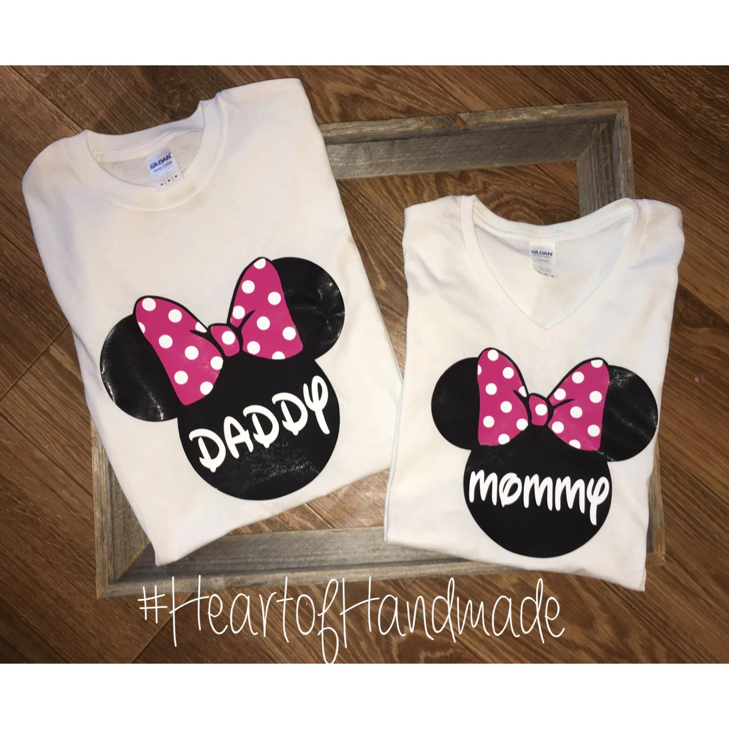 Red Minnie Mouse Mom Of The Birthday Girl Shirt
