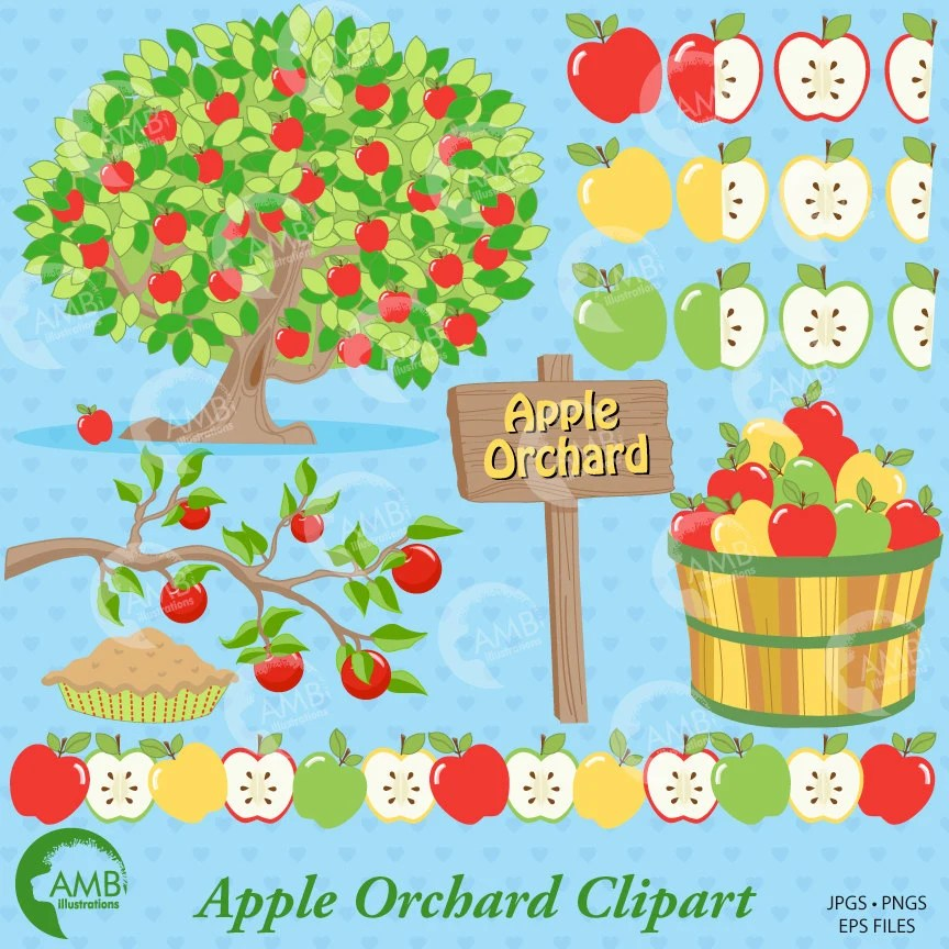 apple clipart clip art orchard