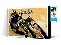 Cafe Racer Wall Decal Motorcycle Sticker Motorcycle Wall