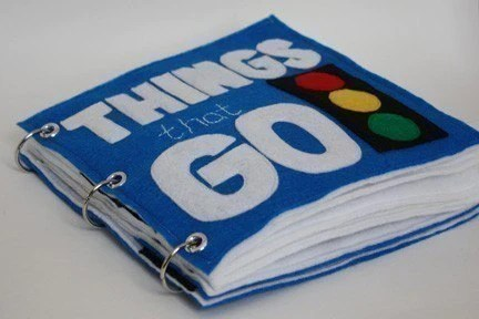 Things That Go Quiet Book Pattern Busy Book Pattern Travel