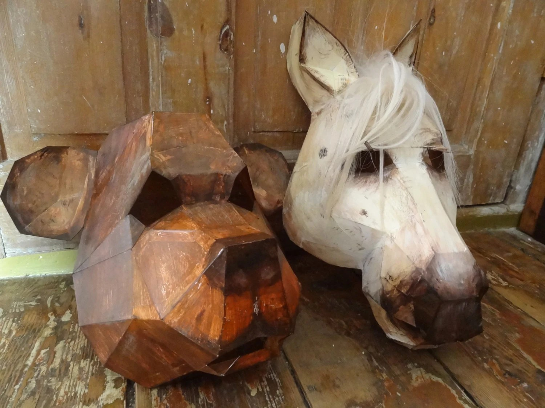 DIY Halloween Masks Masquerade Masksanimal Masks Bear Mask