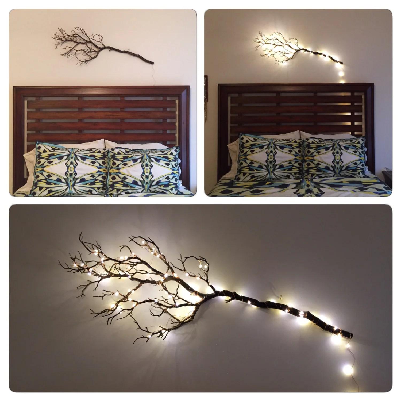 Bedroom Decor Artificial Manzanita Tree Branches Wall