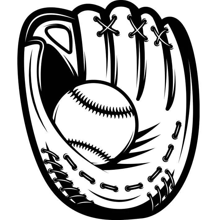 Download Baseball Glove 1 Leather Ball Sports League Equipment Team