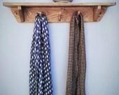 wood wall shelf with hook...