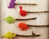 Dinosaur-Hair Bobby Pin-A...